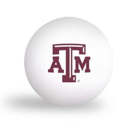 NCAA Texas A/&M University Aggies 6 pack Ping Pong Balls