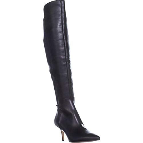 Marc Fisher Womens Adana Pointed Toe Over Knee Fashion Boots, Black Ll, Size 8.0