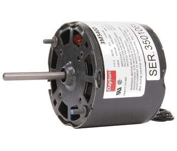 Dayton Electric Motor Model 3M540, Degrees_Fahrenheit, to Volts, Amps,,,, (