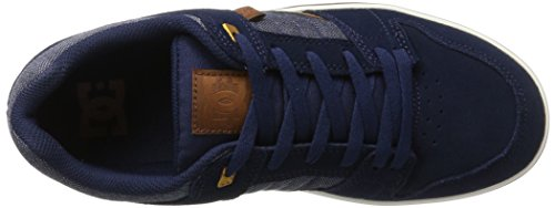 2 da Scarpe Ginnastica Navy Blue Uomo Multicolore Basse DC Shoes Course Se OwExqFC