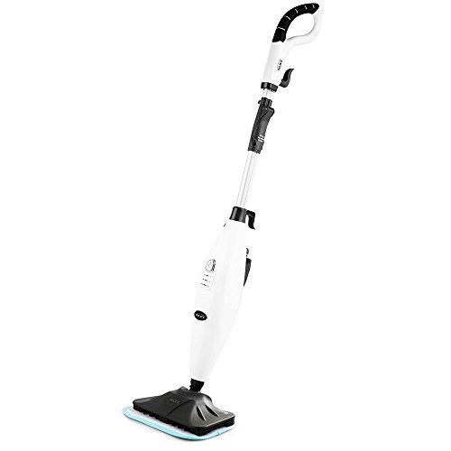 INLIFE Steam Mop with Adjustable Steam 360 Degree Floor Cleaner for Hard Floor