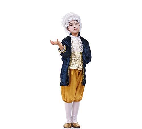 Disfraz de Época de Luis XV para niño: Amazon.es: Juguetes y juegos