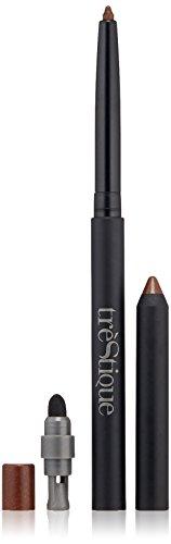 trèStiQue Line, Sharpen & Smudge Eye Pencil   3-in-1 Eyeliner, Smudger, and Sharpener - Vegan, Gluten, Cruelty Free