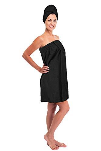 Turkuoise Women's 100% Premium Turkish Cotton Terry Bath Towel Wrap Made in Turkey ()