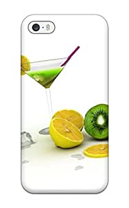Cleora S. Shelton's Shop 6492107K38031107 Protective Tpu Case With Fashion Design For Iphone 5/5s (desktop Cocktail)