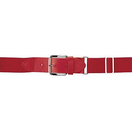 Wilson Sporting Goods Youth Elastic Baseball Belt, 18-22-Inch, Scarlet (Belt Elastic Scarlet)