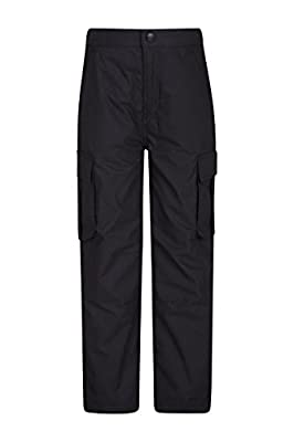 Mountain Warehouse Winter Trek Youth Trousers – Fast Dry Kids Pants