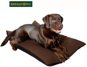 ROVINCE Cama para Perros Perros Techo con zeckprotec garrapatas – 70 x 100 cm