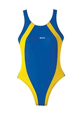 Baño Basics nbsp;– De Para Beco Royalblau Mujer gelb Vestido nbsp;bañador 1B0XXw