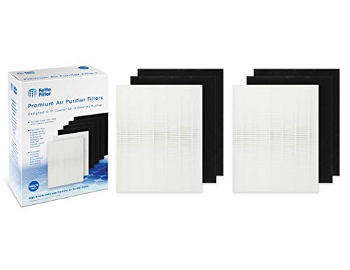 2-Pack - Coway 3304899 Compatible Filter Pack for AP1512HH - 2 HEPA Filters Plus 4 Carbon Pre-Filters - AP-1512HH