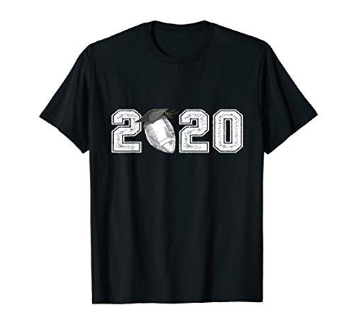 2020 Graduation Football Shirt Senior High School Grad Gifts