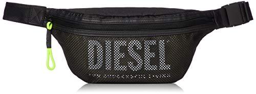 Diesel Men's LONIGO BELTBAG, black/dazzling blue, UNI ()