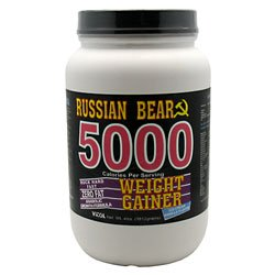 Ours russe 5000 Gainer Vanil - 4 Pound poudre