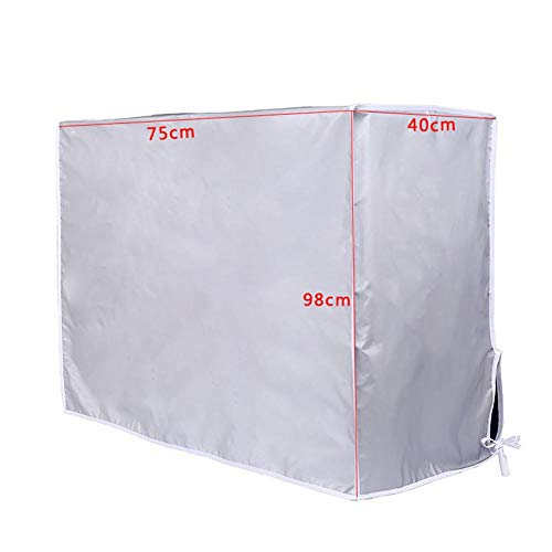 Taimot Outdoor Air Conditioning Cover, Thicken Anti-Dust Anti-Snow Outer Hood Air Conditioner Waterproof Cleaning rain Sunscreen Washing Protector