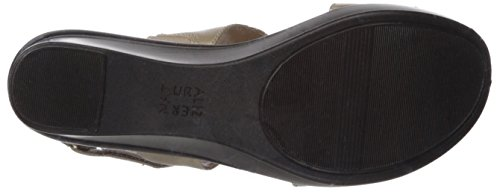 Naturalizer Valerie Women's Champagne Wedge Sandal wC0qZ