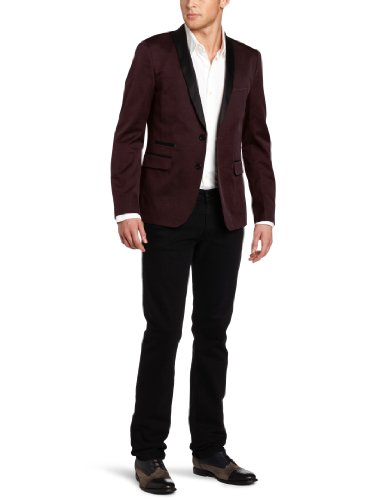 Ben Sherman Men's Plectrum Tuxedo Blazer
