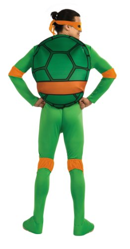 nickelodeon ninja turtles adult michelangelo costume and