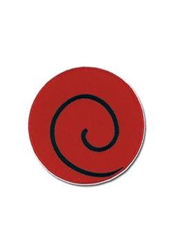 naruto kakashi swirl logo patch amazon ca toys games