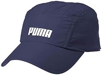 PUMA Men's Performance Running Cap, Peacoat, Adult