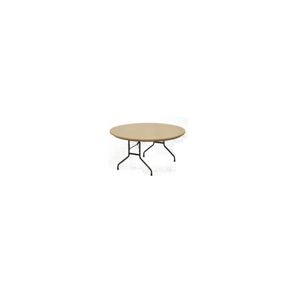 Correll Blow Molded Plastic Folding Table Round 60 Inch   Commercial Grade Tables* *Only $184.73 with SALE10 Coupon