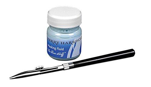 - Terry Harrison Masking Fluid & Ruling Pen