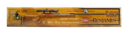 Benjamin Trail NP XL 1100 with scope .22 Cal Air Rifle BT1122WNP