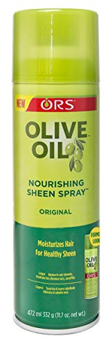 - Ors Olive Oil Sheen Nourishing Spray Original 11.7 Ounce (346ml)