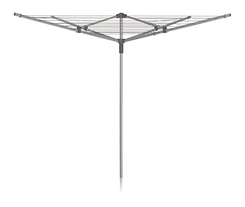 Addis 4 Arm Steel Washing Airer Rotary Drier with Umbrella C