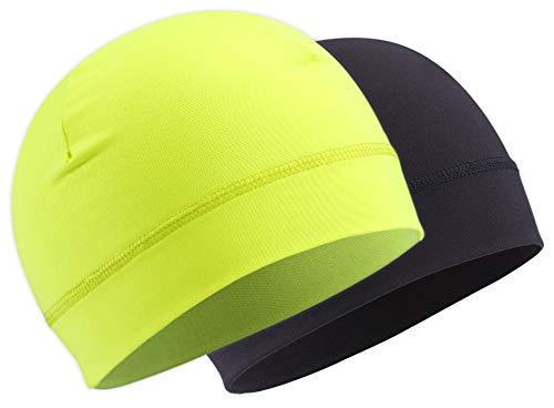 OutdoorEssentials Skull Cap Helmet Liner Running Hat - Cycling Cap   Winter  Beanie for 486fda6b022d