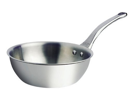 DeBuyer Affinity 3.17-Quart Rounded Saute-pan, Stainless Steel