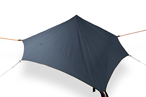 Tentsile Stealth - Suspended Camping Tree House Tent - 3 Person - Dark Grey