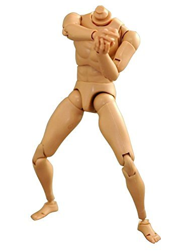 KEEDA® New Version Hot Toys Narrow Shoulder 1:6 Scale Action Figure Caucasian Male Human Nude Muscular Body Soldier Story Model (1 6 Action Figures)
