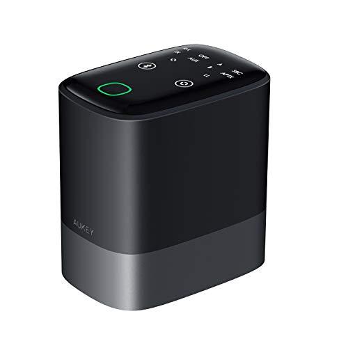 Aukey Bluetooth 5.0 Transmitter Empfänger 2-in-1, 50m Wirelss Audio Adapter...
