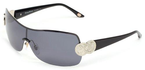 Tommy Bahama Viva La Diva TB7024 Polarized Shield Sunglasses,Gun,137 - Sunglasses Bahama Tommy Women's Polarized