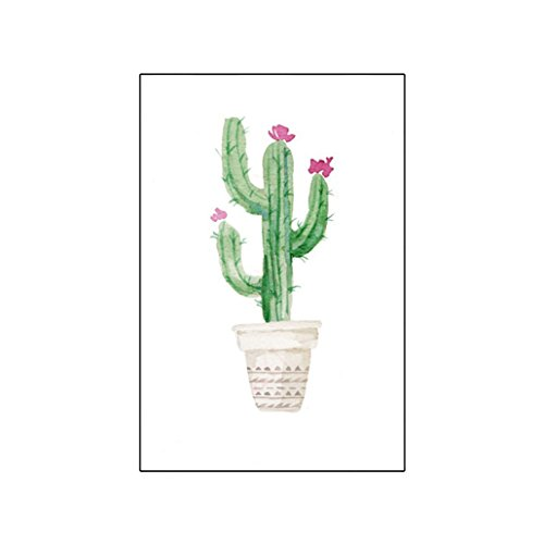Price comparison product image wintefei Potted Cactus Bonsai Wall Painting Living Room Bedroom Home Decoration - 3# 3040cm