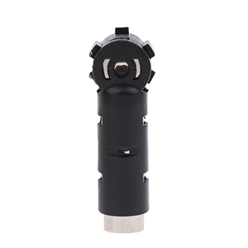 Jili Online Car Radio Aerial Antenna Coax Interface Adapter DIN 41585 Plug to ISO (Car Stereo Iso Plug)