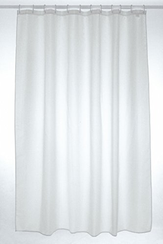 300x 200cm Extra Wide Shower Curtain White: Amazon.co.uk: Kitchen & Home