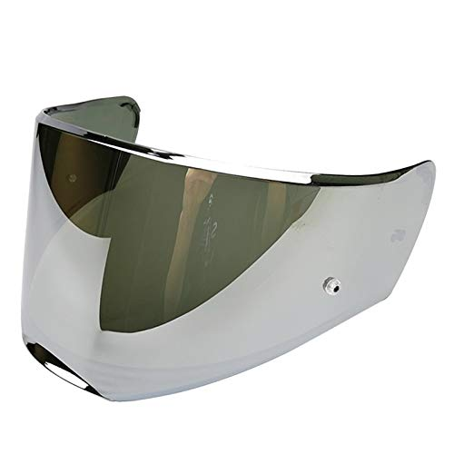 LS2 Anti-Scratch FF390 Breaker Motorcycle Helmet Visor Face Shield Silver