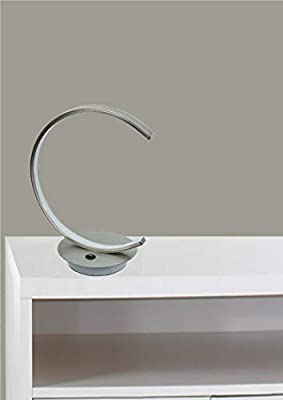 Trango Lámpara de mesa LED de diseño moderno, barra de luz en semicírculo TG2019-01 Lámpara de mesa