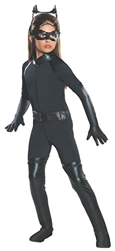 Batman Dark Knight Rises Child's Deluxe Catwoman Costume - Large -