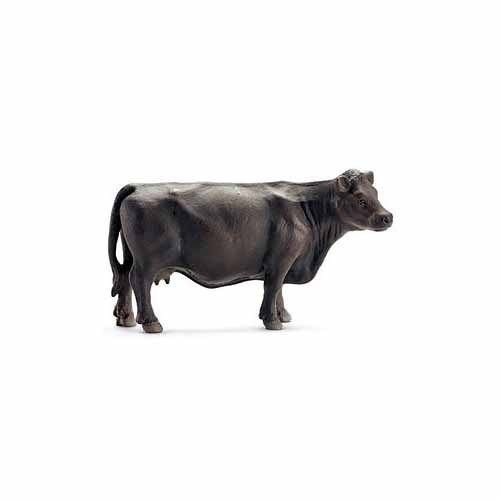 Black Angus Cow Figurine by Schleich - 13767 ^G#fbhre-h4 8rdsf-tg1321399