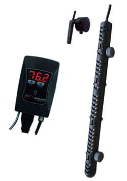 JBJ True Temp Titanium Heater w/Digital Controller & Remote Probe - 800 Watt by JBJ