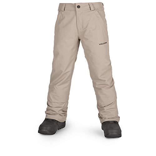 (Volcom Boys' Big Freakin 2 Layer Shell Chino Snow Pant, Shepherd, Large)