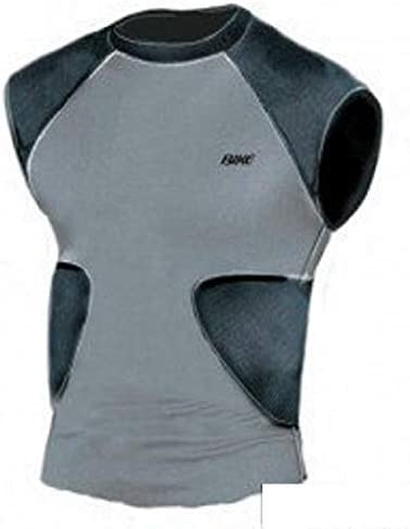 Bike Multi Sport Compression Shirt with Integrated Pads BYRS50 New Youth S
