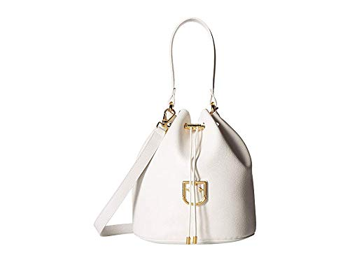 Furla Women's Corona Small Drawstring Bucket Bag Chalk One Size