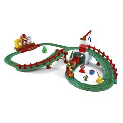 Fisher Price Geotrax North Pole Express Christmas Train Set ...