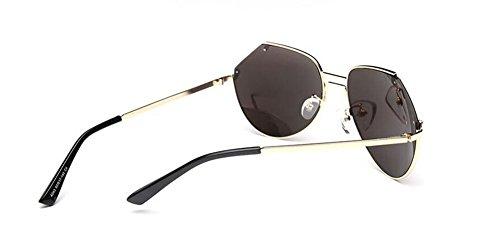 métallique retro soleil de Bleu en polarisées style du Glacier lunettes rond vintage inspirées Lennon cercle wpPgYYq