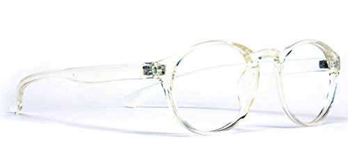 Protective Computer Glasses by Phonetic Eyewear Alpha (Clear Crystal)