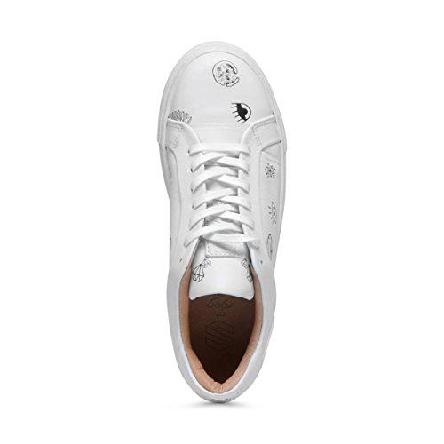 Sacha Damen Sneaker Low Weiß