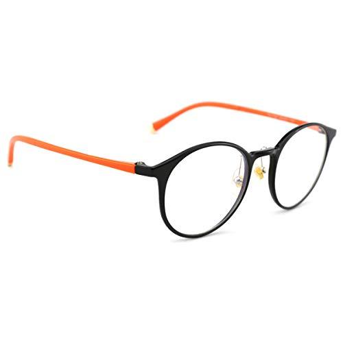 61a00b345d Mimoeye Blue Light Blocking Glasses TR90 Lightweight Glasses Frame Round  Nerd Eyewear Frame